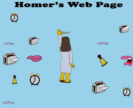 homer web page