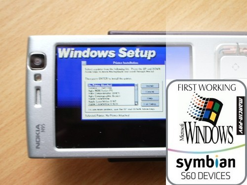 windows 3.1 en un n95