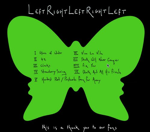 coldplay leftright