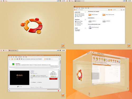ubuntu xp theme