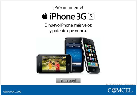 iphone 3gs comcel colombia