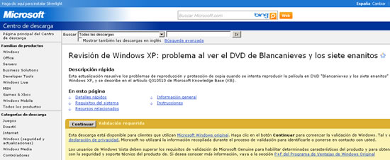 problema windows xp blanca nieves y los siete enanitos