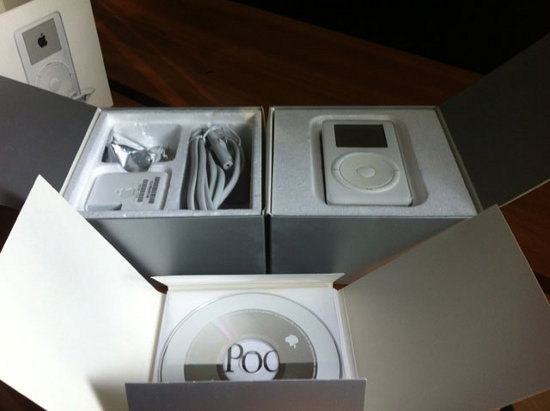 unboxing ipod
