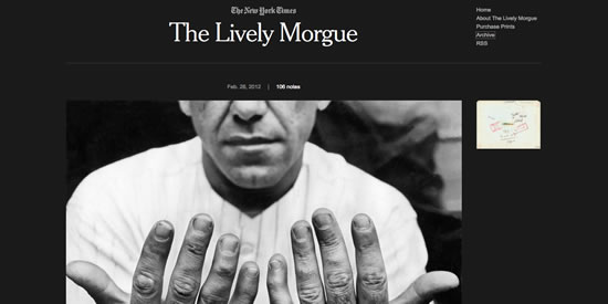 the lively morgue the new york times