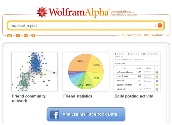wolfram alpha fb