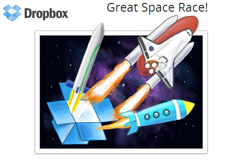 dropbox speed race