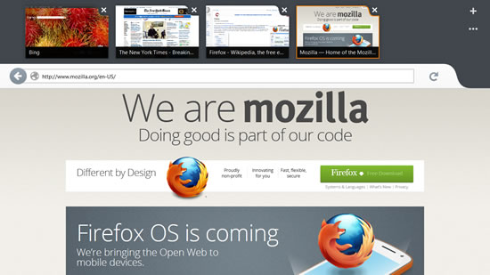 firefox version metro windwos 8