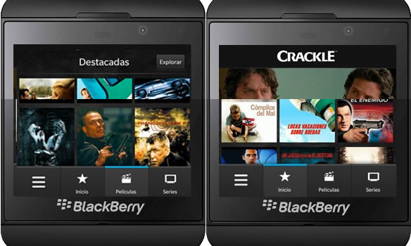 Crackle blackberry 10