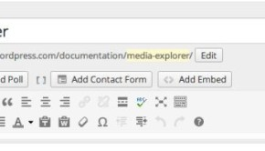 wordpress media explorer