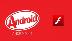 android kit kat flash