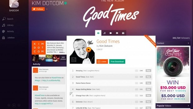 baboom streaming musical kit dotcom