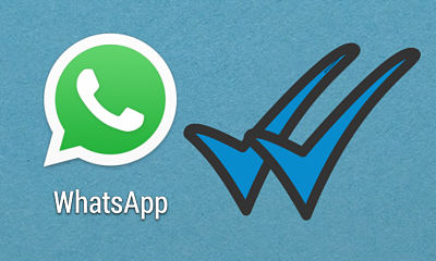 whatsapp doble notificación azul