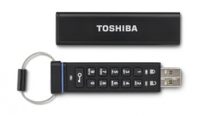 Encrypted USB Flash Drive Toshiba